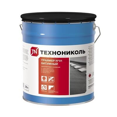"""Праймер """"Технониколь"""" битумный эмульсионный 04 (20л 18 кг)(0,35 л/м2)"""