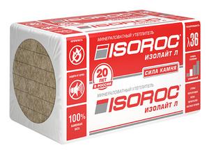 ИЗОРОК Изолайт (50пл.) 1000*500*100 (2м2)(0,2м3)