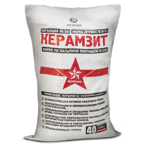 Керамзит (0.04м3)  (7,5кг/меш)