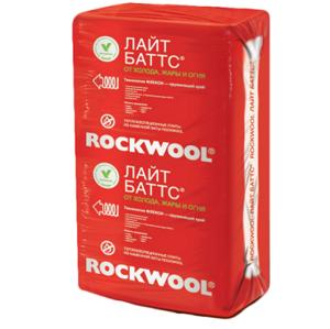 ROCKWOOL Лайт баттс 1000*600* 50 (6м2) (0,3м3)