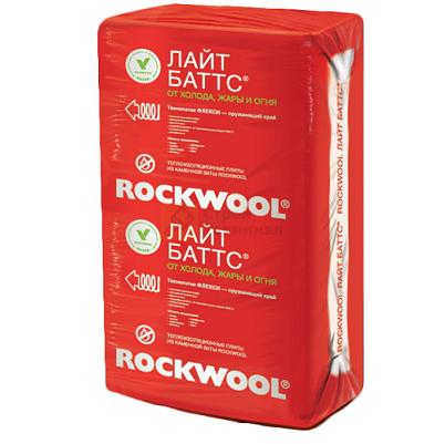 ROCKWOOL Лайт баттс Экстра 1000*600* 50 (4,8м2)(0,24м3)