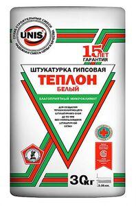 Штукатурка ЮНИС- ТЕПЛОН БЕЛЫЙ  (30кг) (40шт/под)