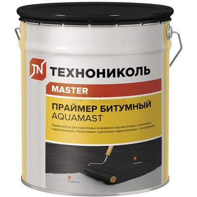 "Праймер ""Технониколь"" Аквамаст  битумная на водной основе (12л)(10кг)"
