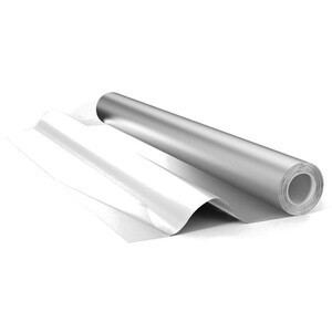 Фольга алюминиевая в намотке (12м2) (50мкм)