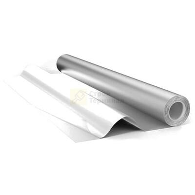 Фольга алюминиевая для бани 50 мкр 12 м2