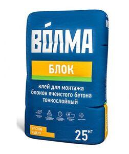 """Клей монтажный """"Волма- Блок""""(25кг) (48шт/под)мороз"""