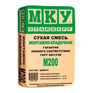 МКУ Монтажно-кладочная М200 (40кг) ( 35шт/под)