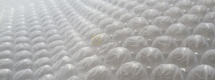 Пленка двухслойная воздушно-пузырчатая 1.2х10м 12 м2  63грм2