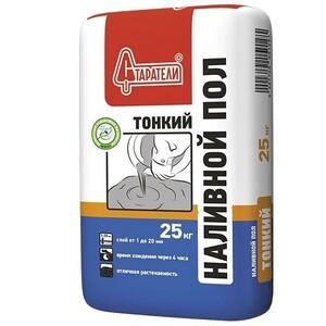 СТАРАТЕЛИ Наливной пол Тонкий ( 25 кг) (63шт/под)