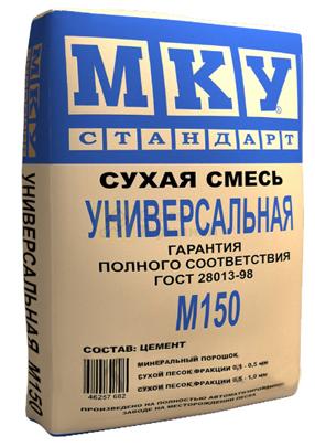 Сухая смесь М150 (40кг) ( 35шт/под)