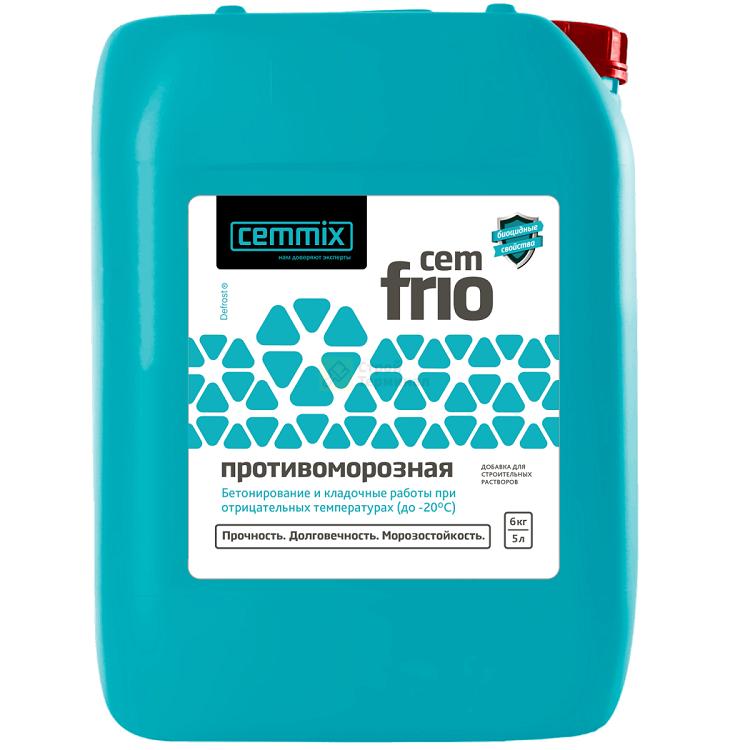 Противоморозная добавка СemFrio, 5 л