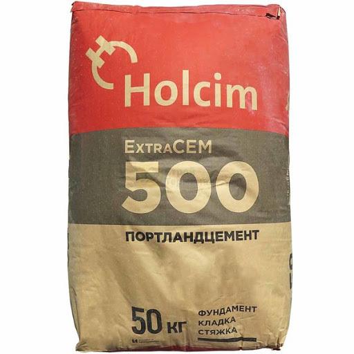 Цемент Холсим М-500  (50кг)  (30шт/под)