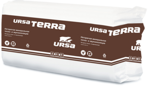 URSA Терра 37 PN 1250*610*100 (7,625м2) (0,7625м3) (24шт/под)