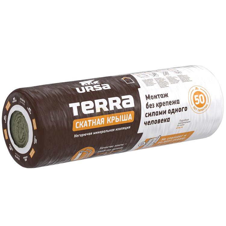 Маты теплоизоляционные TERRA 35 QN 3900-1200-150 (4,68м2) (0,702м3)