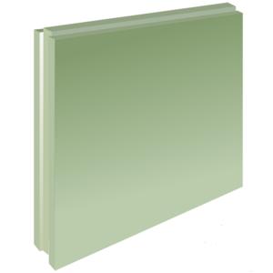 Пазогребневая плита Волма 667х500х100 мм Полнотелая  Пл ГН1 (37кг/л) (24шт/под)
