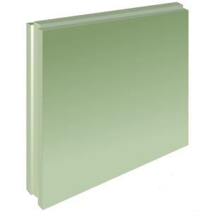 Пазогребневая плита Волма 667х500х 80 мм Полнотелая Пл ГН1 (30кг/л) (30шт/под)