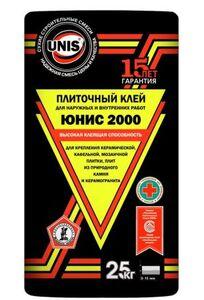ЮНИС 2000 смесь сухая клеевая (25кг) (48 шт/под)